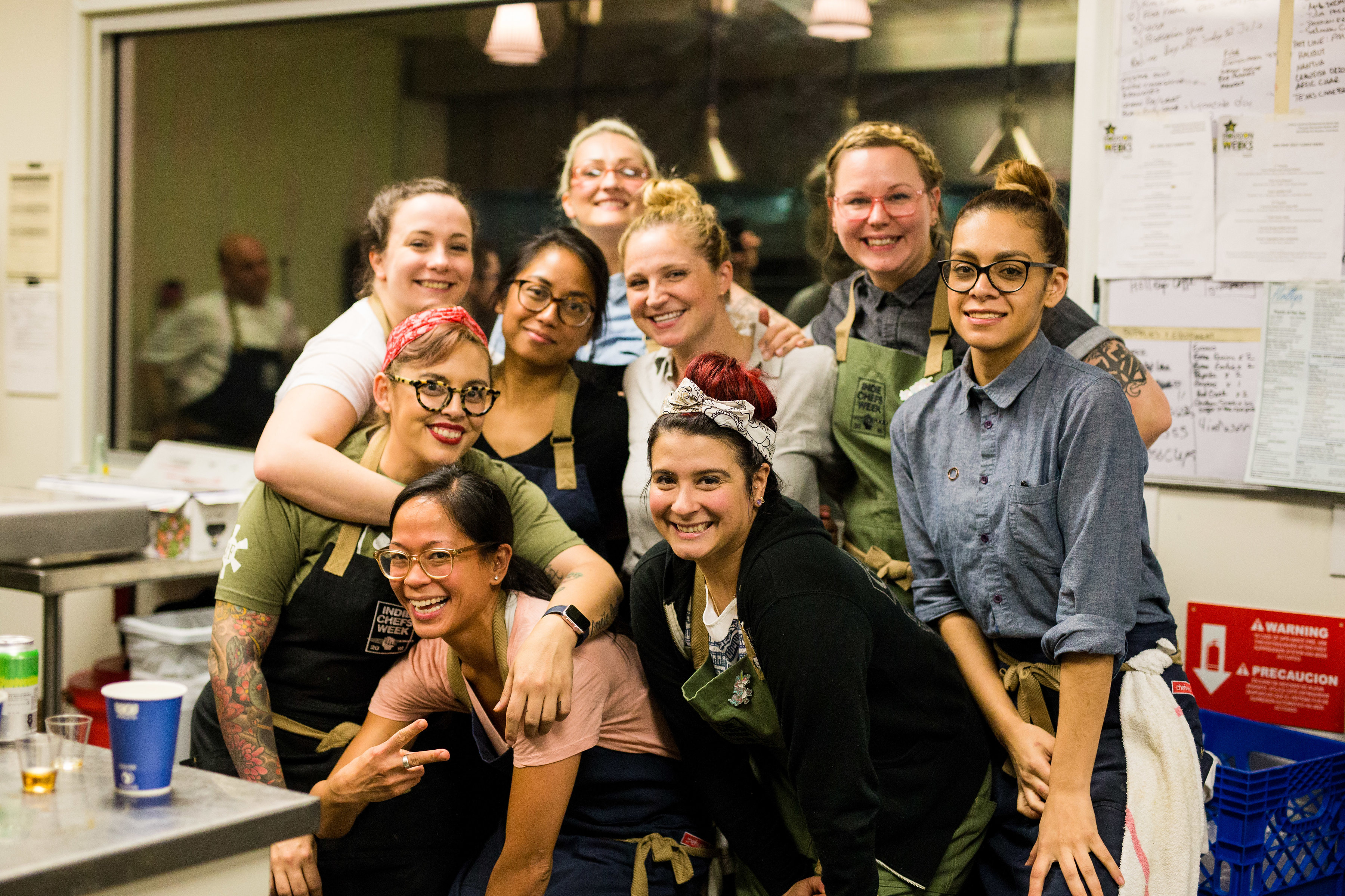 Women of Indie Chefs Week Houston